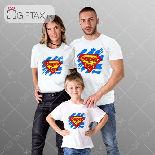 تیشرت ست خانواده سه نفره خرید از سایت گیفتکس